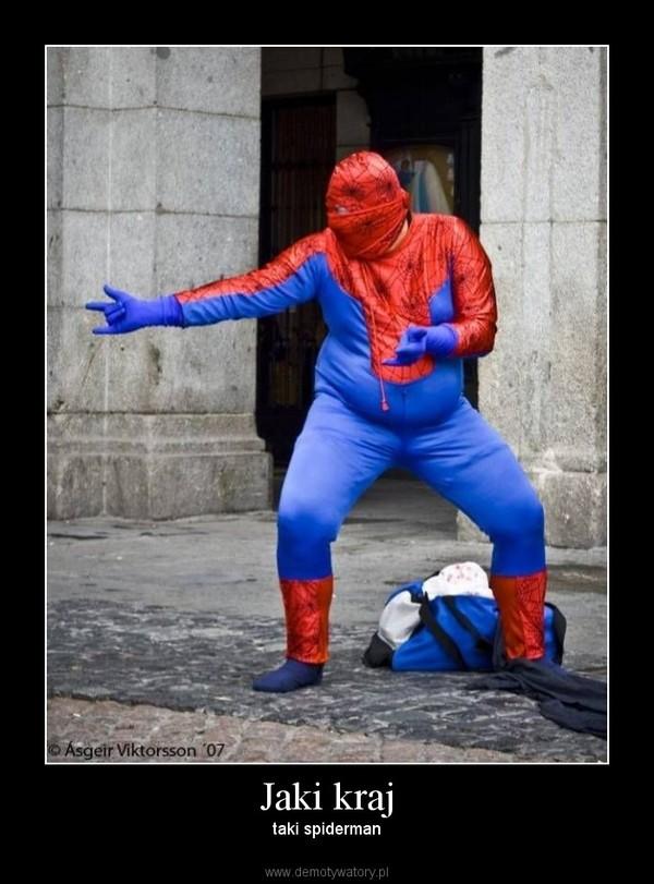 Jaki kraj – taki spiderman