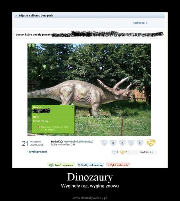 Dinozaury – Wygineły raz, wyginą znowu