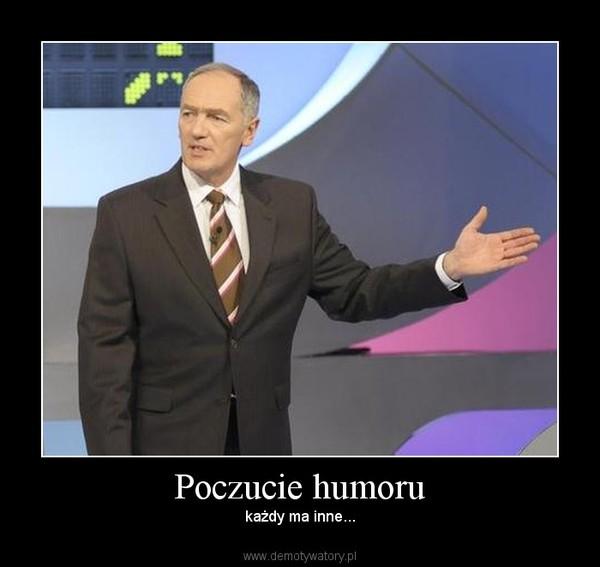 Poczucie humoru – każdy ma inne...