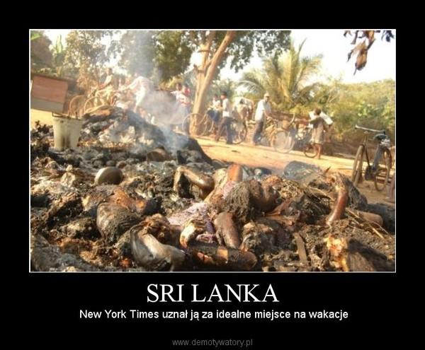 SRI LANKA –  New York Times uznał ją za idealne miejsce na wakacje