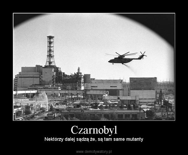 Czarnobyl – Nektórzy dalej sądzą że, są tam same mutanty