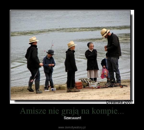 Amisze nie grają na kompie... –  Szacuuun!