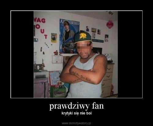 prawdziwy fan