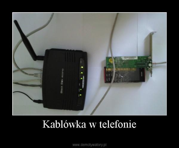 Kablówka w telefonie –
