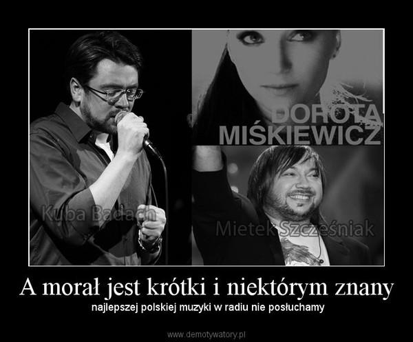A morał jest krótki i niektórym znany – najlepszej polskiej muzyki w radiu nie posłuchamy