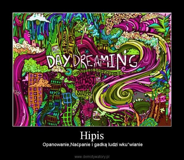 Hipis – Opanowanie,Naćpanie i gadką ludzi wku*wianie