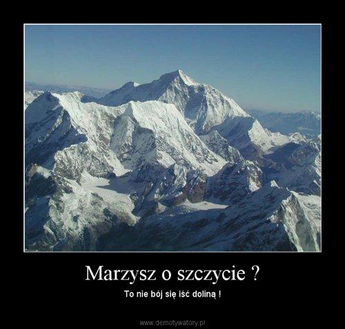 Marzysz o szczycie ?
