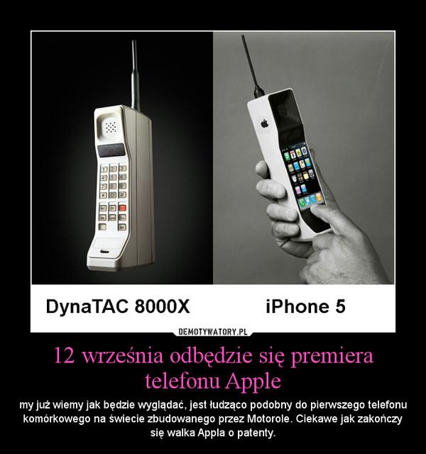 12 września odbędzie się premiera telefonu Apple
