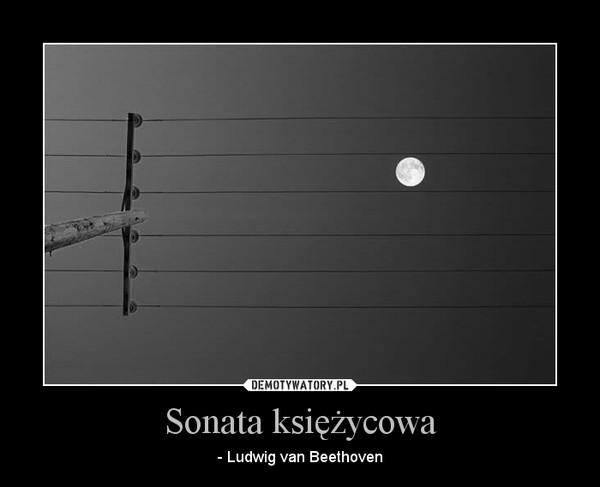 Sonata księżycowa – - Ludwig van Beethoven
