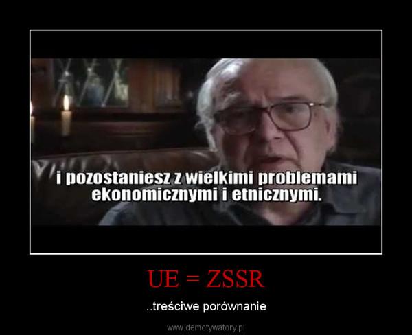 UE = ZSSR – ..treściwe porównanie