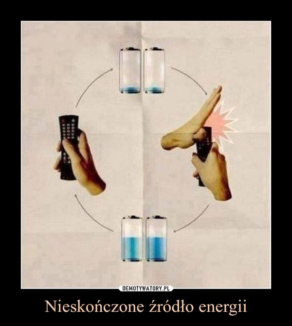 Nieskończone źródło energii –