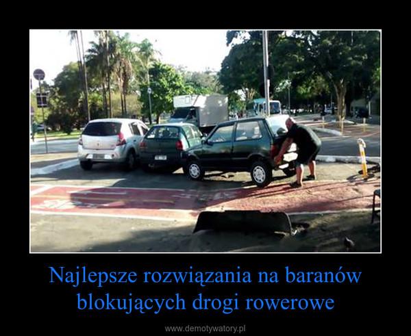 Najlepsze rozwiązania na baranów blokujących drogi rowerowe –