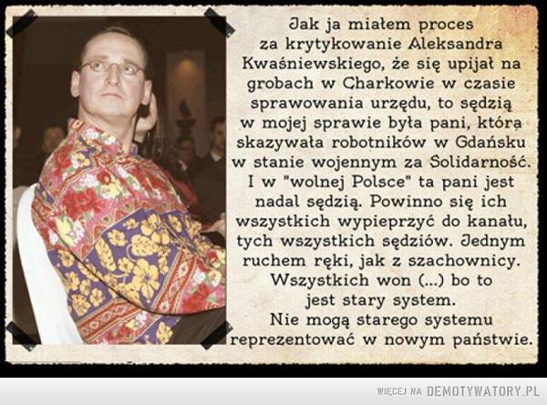 Cejrowski o systemie –
