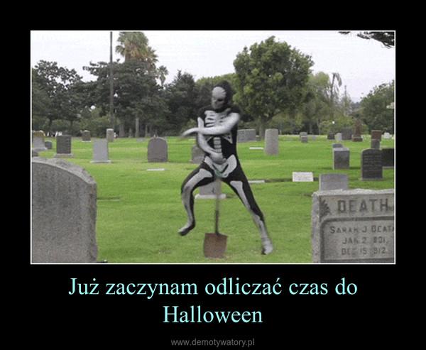 Już zaczynam odliczać czas do Halloween –