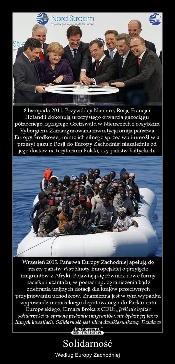 Solidarność – Według Europy Zachodniej
