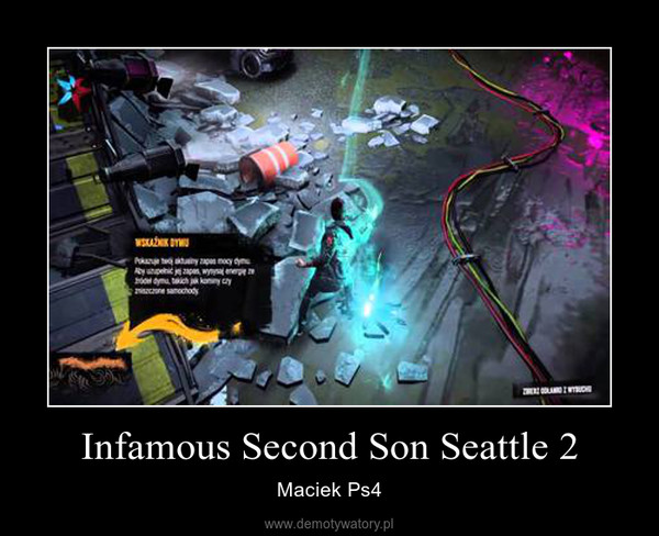 Infamous Second Son Seattle 2 – Maciek Ps4