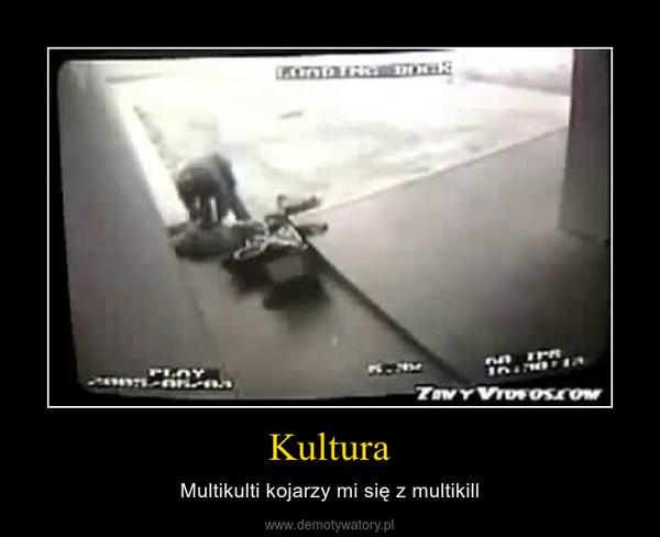 Kultura – Multikulti kojarzy mi się z multikill