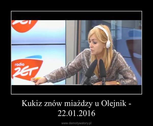 Kukiz znów miażdzy u Olejnik - 22.01.2016 –