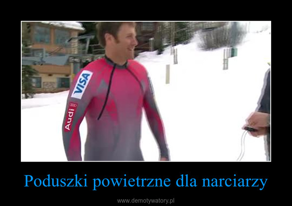 Poduszki powietrzne dla narciarzy –