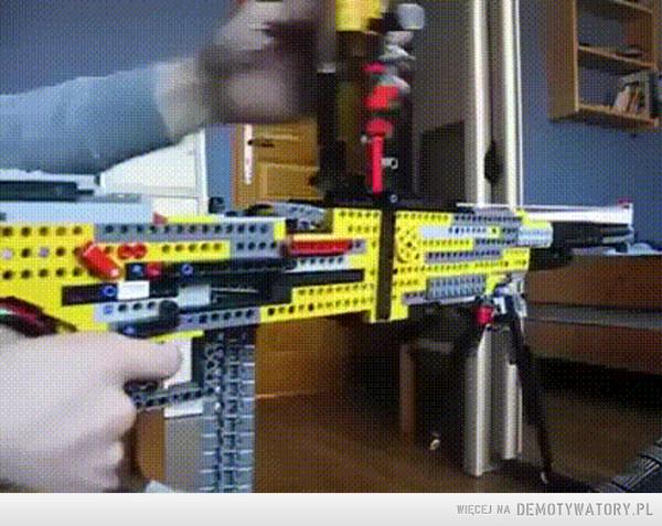 Karabin z Lego –