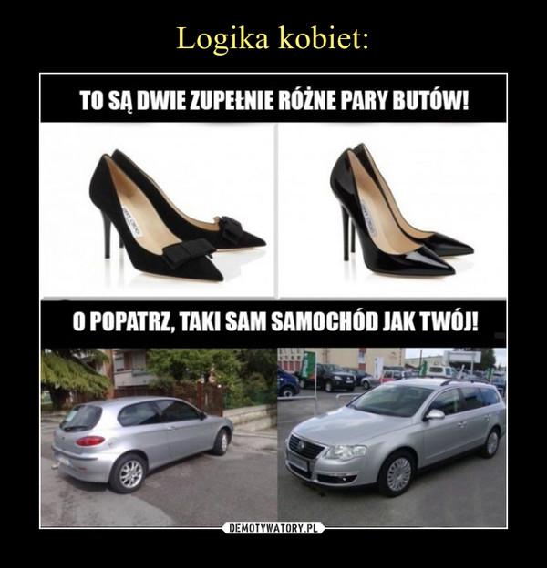 –  To są dwie zupełnie różne pary butów!O popatrz, taki sam samochód jak Twój!