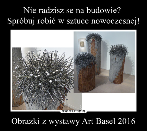 Obrazki z wystawy Art Basel 2016 –