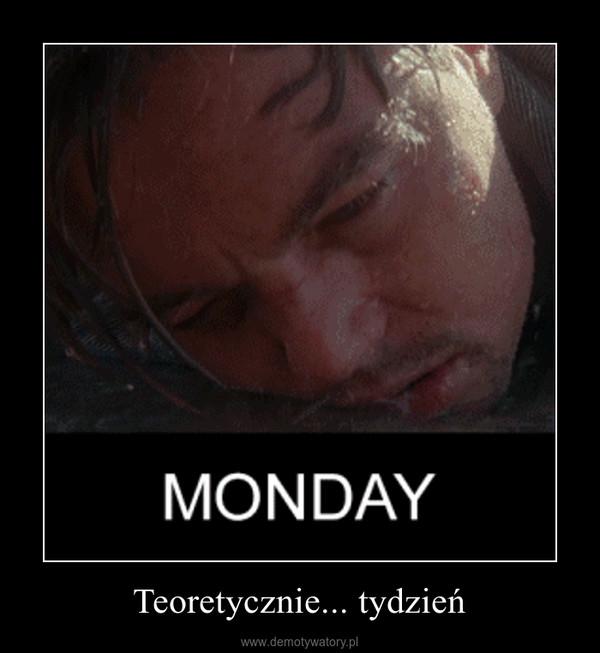 Teoretycznie... tydzień –
