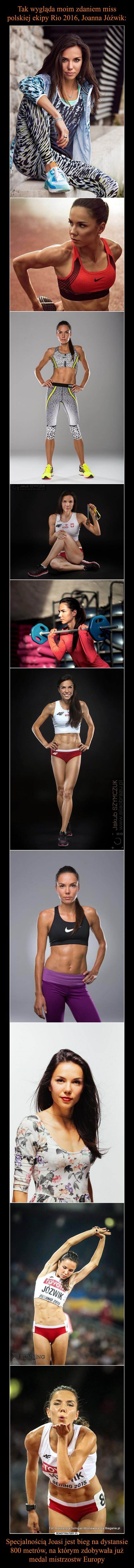 Specjalnością Joasi jest bieg na dystansie 800 metrów, na którym zdobywała już medal mistrzostw Europy –