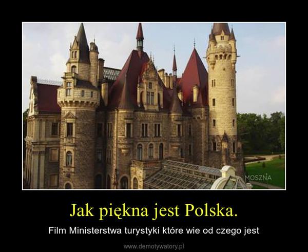 Jak piękna jest Polska. – Film Ministerstwa turystyki które wie od czego jest