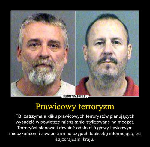 Prawicowy terroryzm