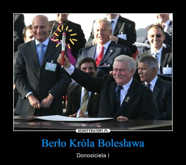 Berło Króla Bolesława – Donosiciela I