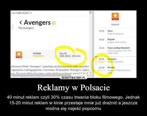 Reklamy w Polsacie