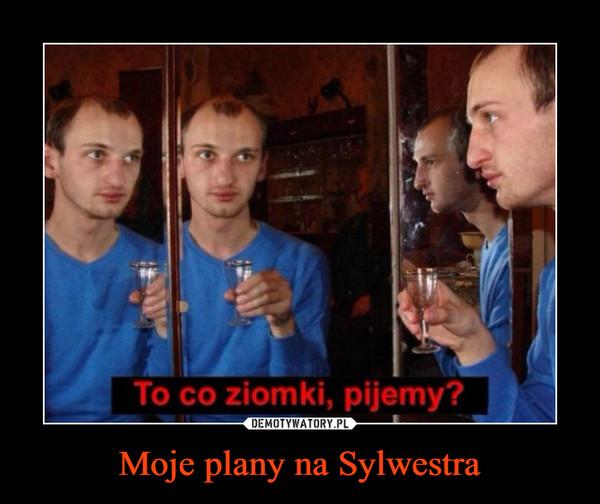 Moje plany na Sylwestra –  To co ziomki, pijemy?