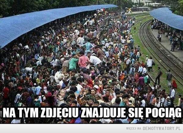 Na tym zdjęciu znajduje się pociąg –