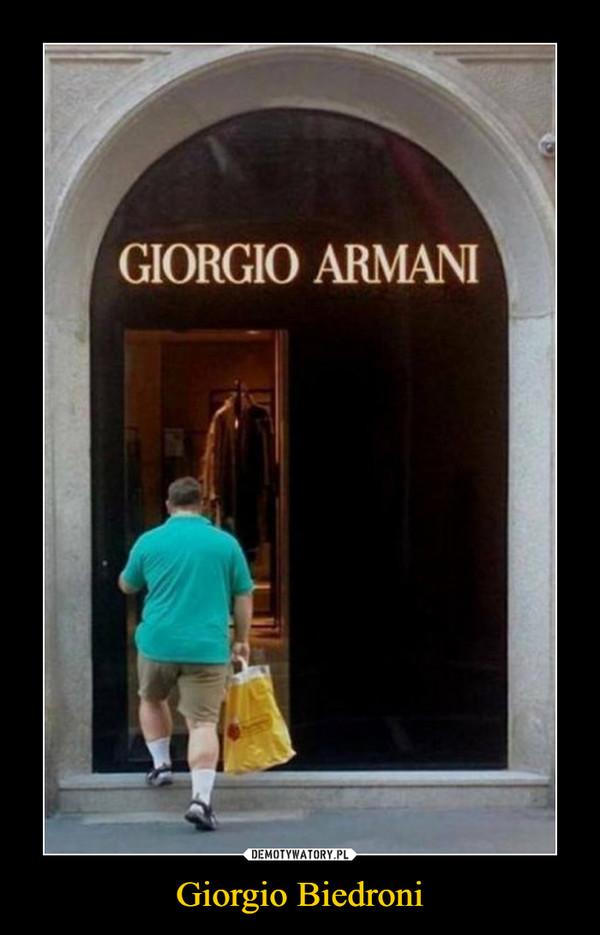 Giorgio Biedroni –