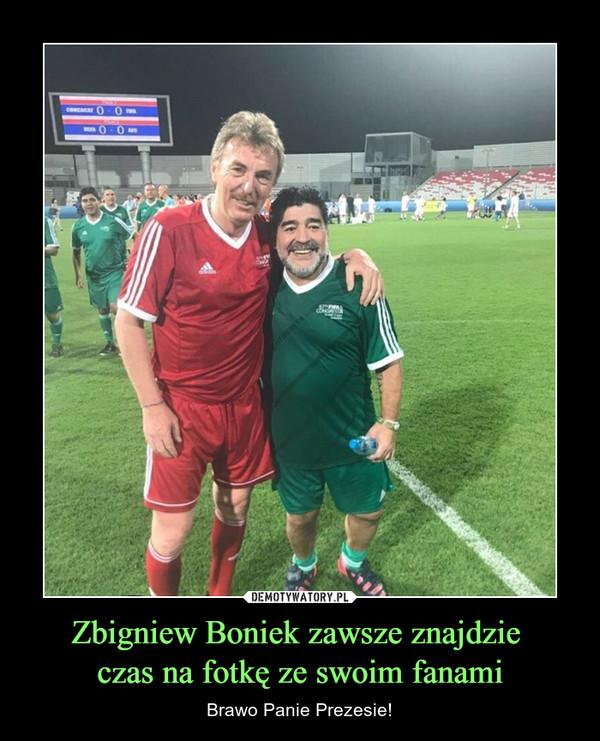 Zbigniew Boniek zawsze znajdzie czas na fotkę ze swoim fanami – Brawo Panie Prezesie!