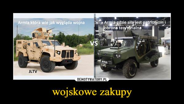 wojskowe zakupy –