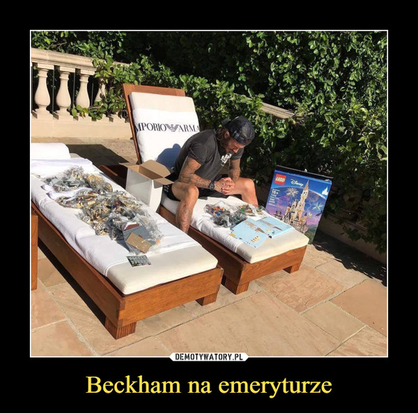 Beckham na emeryturze –