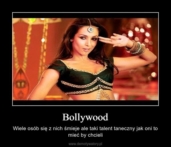 Bollywood – Wiele osób się z nich śmieje ale taki talent taneczny jak oni to mieć by chcieli