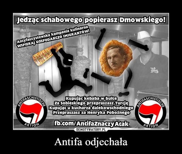 Antifa odjechała –