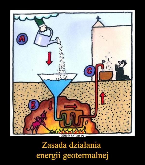 Zasada działania energii geotermalnej –