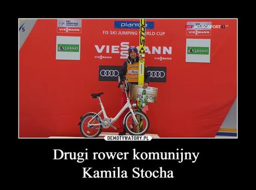 Drugi rower komunijny  Kamila Stocha