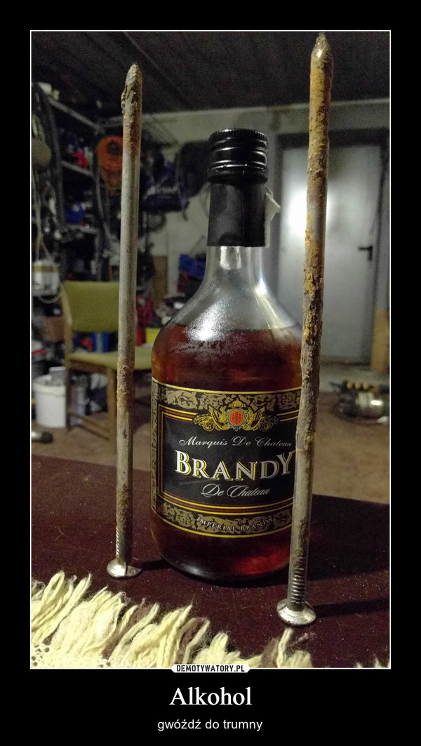 Alkohol – gwóźdź do trumny