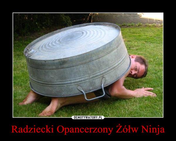 Radziecki Opancerzony Żółw Ninja –