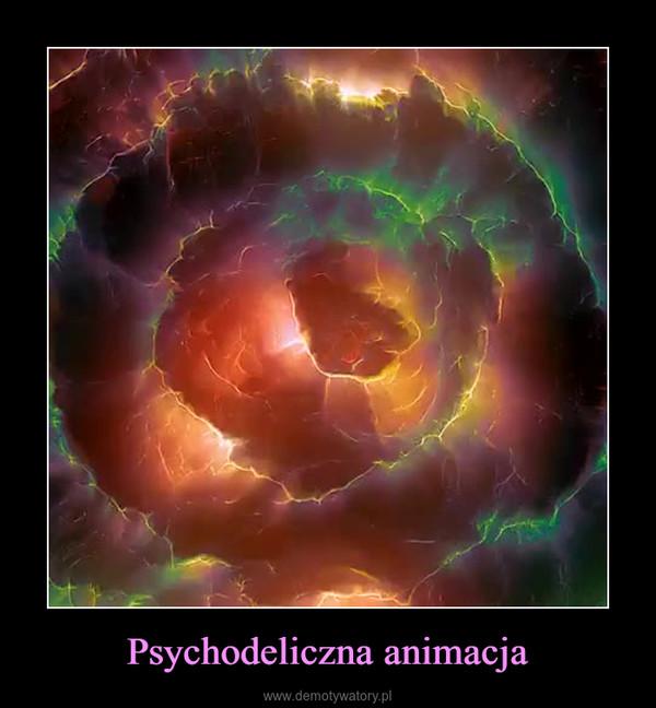 Psychodeliczna animacja –