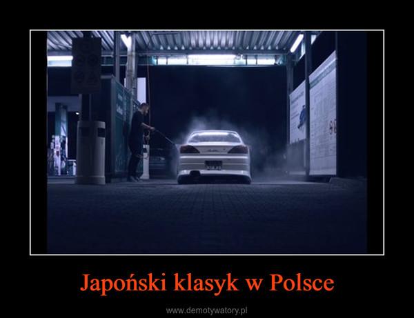Japoński klasyk w Polsce –