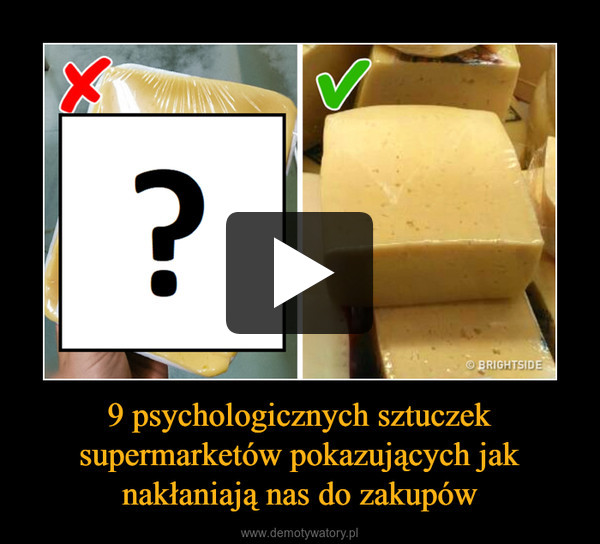 9 psychologicznych sztuczek supermarketów pokazujących jak nakłaniają nas do zakupów –