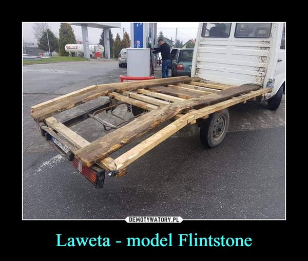 Laweta - model Flintstone –