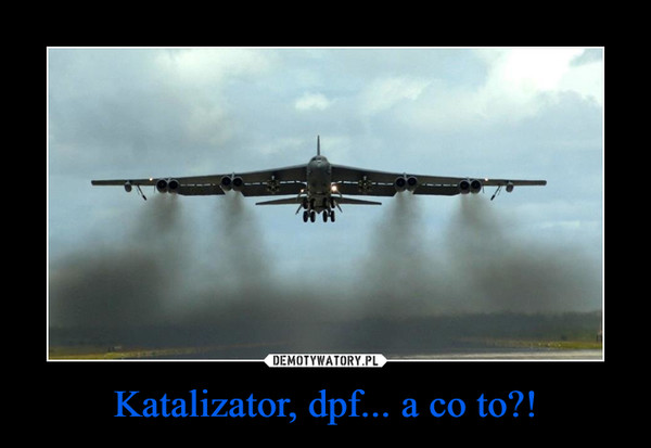 Katalizator, dpf... a co to?! –