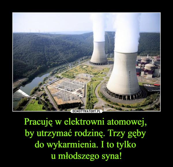 Pracuję w elektrowni atomowej, by utrzymać rodzinę. Trzy gęby do wykarmienia. I to tylko u młodszego syna! –